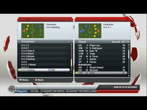 FIFA 13 Gameplay - Manchester United vs Atltico Madrid (HD)