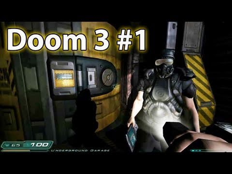 Space Marines On Mars! -- Doom 3 (1 of 6)