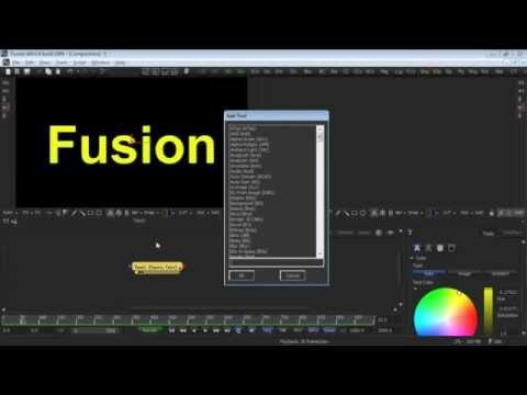 eyeon Fusion Master Class 106B Alternative Mask Inputs