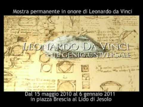 Mostra sulle Macchine di Leonardo Da Vinci a Jesolo (VE)