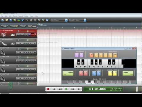 How to Make Professional Drum Loops using Virtual Instruments on Mixcraft