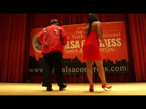 Eddie Torres &amp; Griselle Ponce workshop salsa on2 shines part3 @ NY Salsa Congress 2011