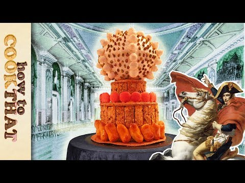 Wedding Cake Recipe from 200 years ago | How To Cook That Ann Reardon