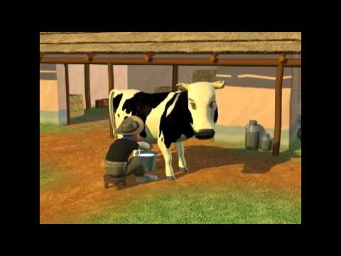 Download La Vaca Lechera Canciones Infantiles De Granja