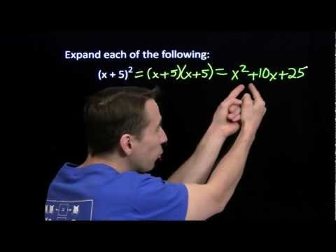 Art of Problem Solving: Square of a Binomial