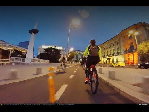VIDEOCLIP Cu bicicleta prin Bucuresti: Calea Victoriei - Parcul Regele Mihai I / Herastrau