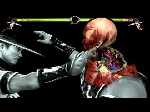 Mortal Kombat 2011 - All Characters- X-Ray Moves!