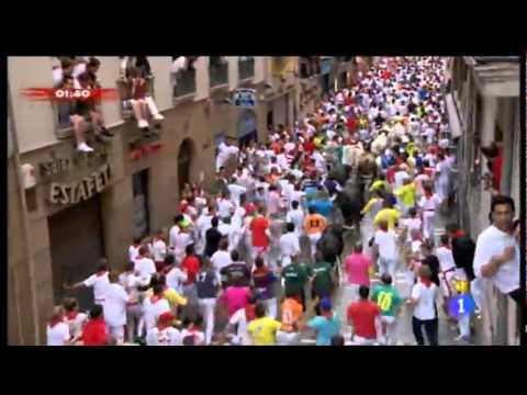 Tercer Encierro de San Fermín 2011