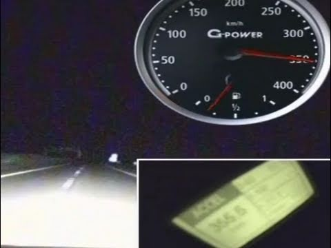 359 km/h (224 mph) G-Power Hurricane RS BMW M5 Touring GPS-verified on PerformanceBox