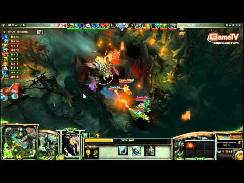 Dota2 |  SL8 Fnatic vs Poseidon 11/12/2013
