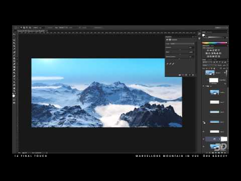 Vue tutorial: Build a mountain range with fractals, Part 14