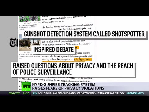 Big Brother Listens: NYPD gunfire tracking system raises privacy fears