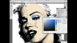 Fast Pop Art from photo (tutorial for Intermediate users of Photoshop)
