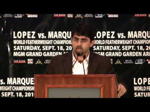 Juan Manuel Lopez vs Rafael Marquez