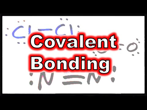 Lewis Theory III: Covalent Bonding