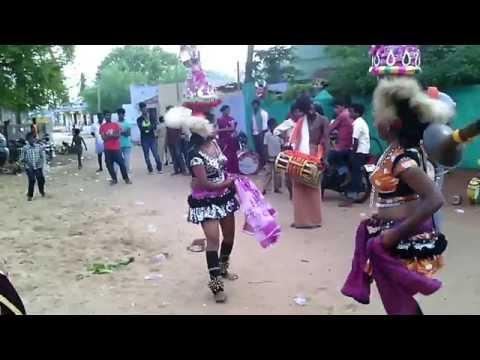 karagattam villaga hot dance Tamil Village Karakattam in midnight new collections