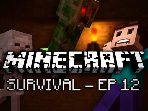 Minecraft: Survival Let's Play Ep. 12 - Super Saiyan
