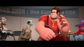 WRECK-IT RALPH trailer Official HD - Disney - Available on Digital HD, Blu-ray and DVD Now