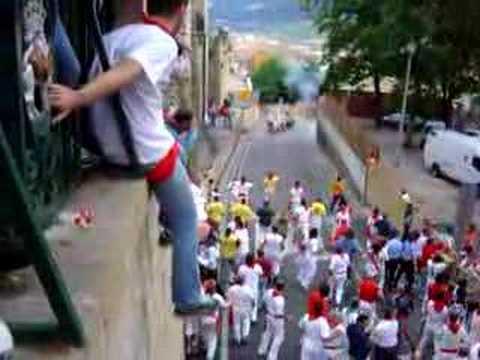 Encierro San Fermín 2007