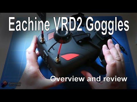 RC Reviews: Eachine VRD2 FPV Goggles (from Banggood.com) - UCp1vASX-fg959vRc1xowqpw