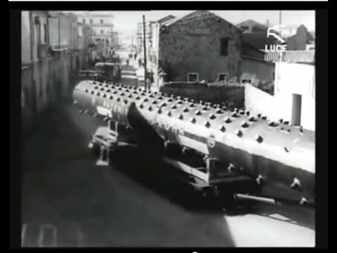 Centrale elettrica Portovesme - L'arrivo della caldaia / 22 Marzo 1963