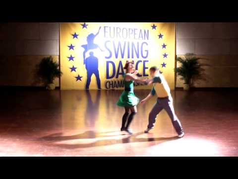 ESDC 2011 -  LINDY HOP SHOWCASE (William &amp; Maeva)