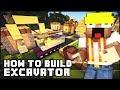 ► Minecraft : How to Make - Excavator