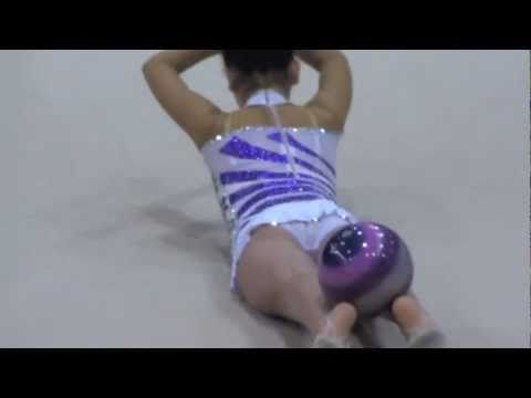Jade Lazarus - Ball Routine - Australian Rhythmic Gymnastics National Champs, Perth 2011