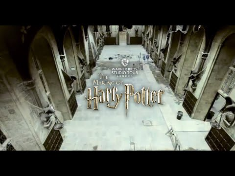 Great Hall time-lapse at Warner Bros. Studio Tour London - The Making of Harry Potter