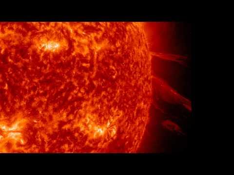Awesome Sun Eruption 2/1/2012!!! (FULL HD 1080p)