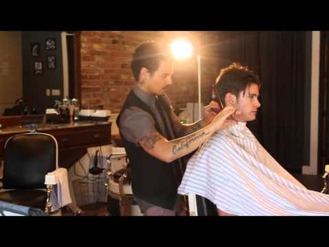 Playboy Magazine Photoshoot - Behind the Scenes Men's Haircut & Hairstyle