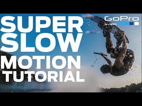 GoPro Hero 5 Black- SUPER SLOW MOTION TUTORIAL-  NO Addons or Plugins-FREE