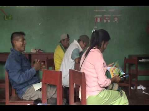 Capacitación Cubicación Madera. Comunidad Nativa San Pedro de Pichanaz (I PARTE)