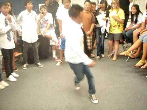 Break Dancing and c-walking.(RVMS)(Asians)