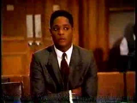 Funny Tourrettes scene from 1989 TV LA Law