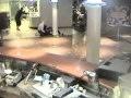 Pacific Sun Cruise Liner in Very Heavy Seas. Internal CCTV footage