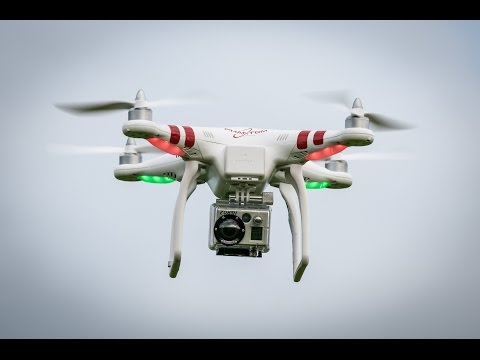 helicam operating and flying - DJI phantom 3 .