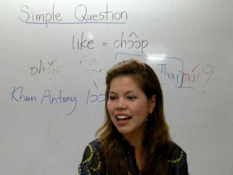 Learning Thai : Simple Question by professional Thai language teacher :