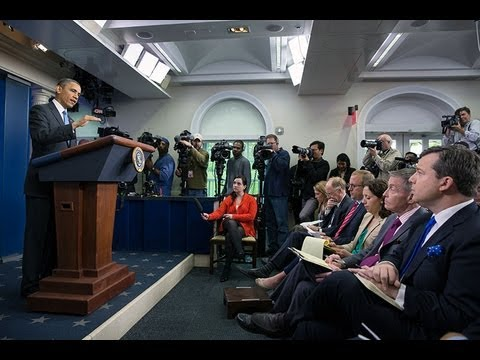President Obama Holds a News Conference  4/30/13