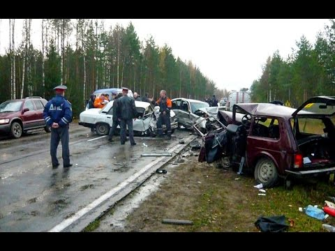 Аварии автомобилей - свежая подборка