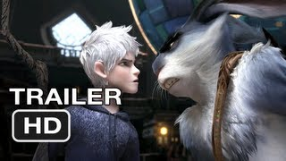 Rise of the Guardians Official Trailer - Guillermo Del Toro (2012) HD