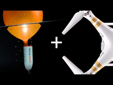 Water Buoy + DJI Phantom 3 | Can it save my drone?