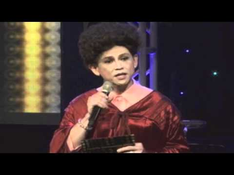 Jon Santos as Senator Miriam Defensive-Santiago at the MYX Music Awards 2012