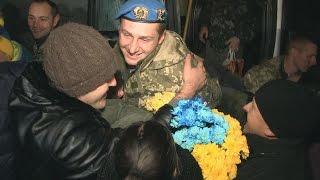 «Киборги» житомирской 95-й бригады вернулись домой