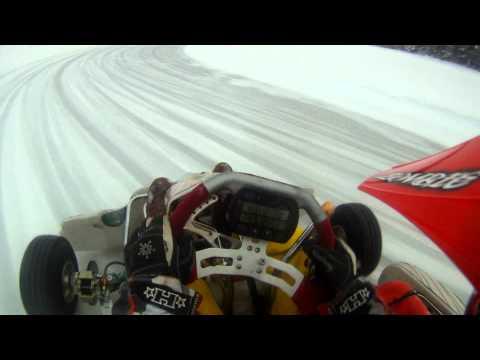 IceKarting Sweden Kz2 Gopro hero HD 1080p