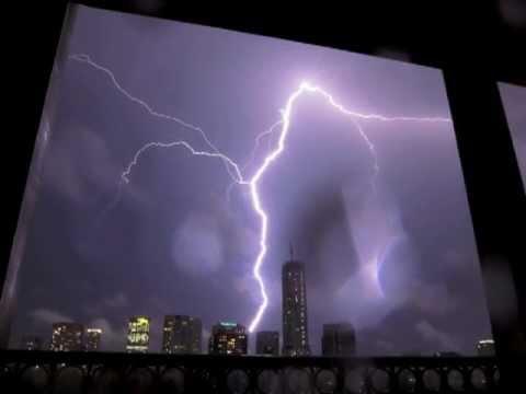 Toronto lightning storm, 24 August 2011
