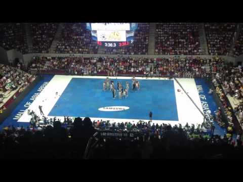 UP Pep Squad 2012 UAAP Cheerdance
