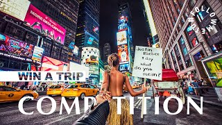 #FOLLOWMETO COMPETITION! WIN A TRIP WITH US!