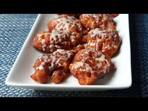 Apple Fritters Recipe - How to Make Apple Fritters