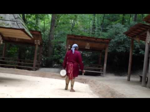 Oconaluftee Indian Village-dance show